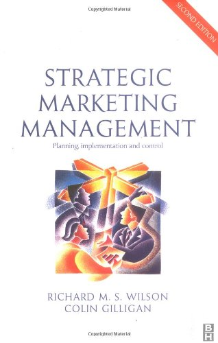 Strategic marketing management planning implementation and control pdf