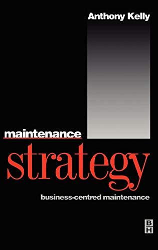 9780750624176: Maintenance Strategy