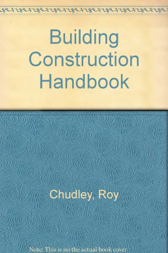 9780750624688: Building Construction Handbook