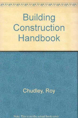 9780750624688: Building Construction Handbook, Second Edition
