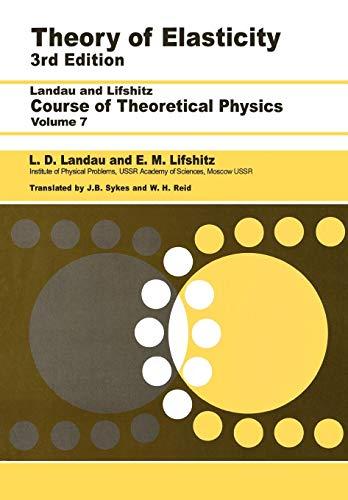 9780750626330: Theory of Elasticity: Volume 7 (Theoretical Physics)