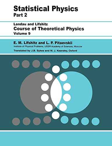 Statistical Physics Part 2 Course of Theoretical: Landau, Lev Davidovich