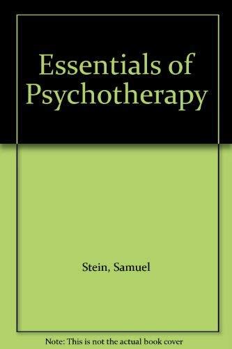 9780750626552: Essentials of Psychotherapy