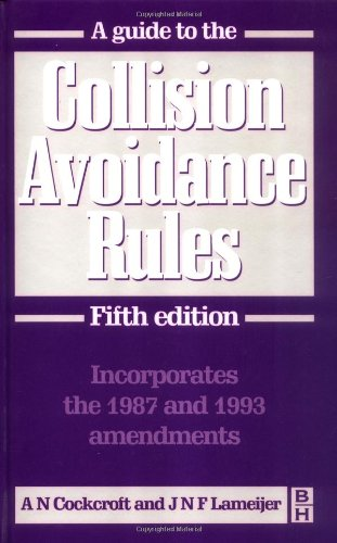 9780750626903: Guide to the Collision Avoidance Rules, Fifth Edition