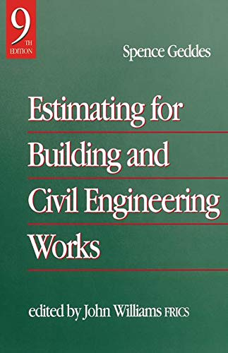 9780750627979: Estimating for Building & Civil Engineering Work