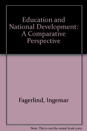 9780750628303: Education and National Development: A Comparative Perspective