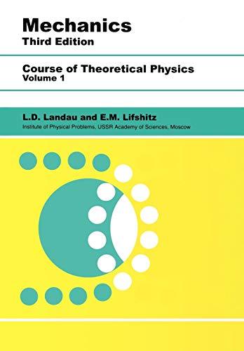 9780750628969: Mechanics: Volume 1 (Course of Theoretical Physics S)