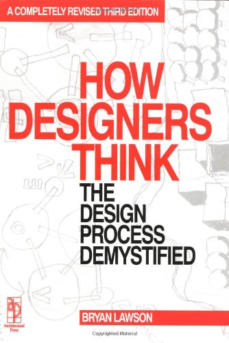 How Designers Think, Third Edition: Bryan Lawson