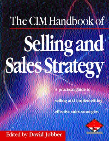 9780750631167: Cim Handbook of Selling & Sales Strategy (Marketing Series: Practitioner)