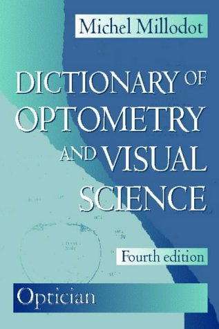 9780750631457: Dictionary of Optometry and Visual Science