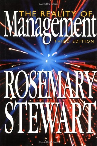 The Reality of Management: Stewart, Rosemary