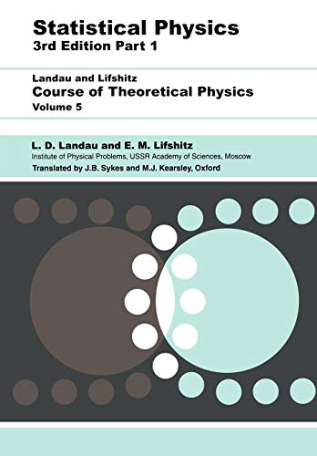 9780750633727: Statistical Physics, Third Edition, Part 1: Volume 5 (Course of Theoretical Physics, Volume 5)