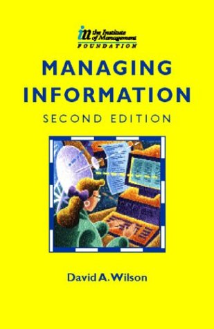 9780750633895: Managing Information, Second Edition (CIMA Pilot Papers)