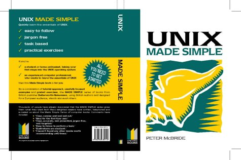 9780750635714: Unix Made Simple (Made Simple Computer)