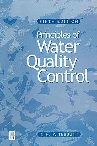 9780750636582: Principles of Water Quality control