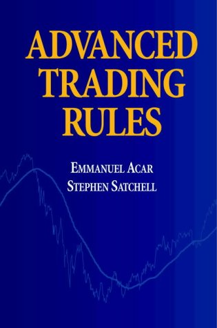 9780750638173: Advanced Trading Rules