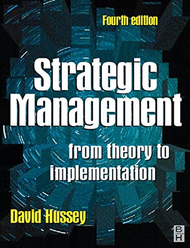 9780750638494: Strategic Management, Fourth Edition: From Theory to Implementation