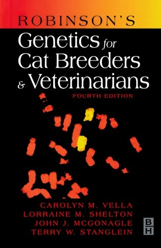 9780750640695: Robinson's Genetics for Cat Breeders and Veterinarians, 4e