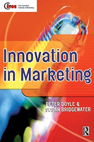 9780750641210: Innovation in Marketing (Cim Professional Development Series)