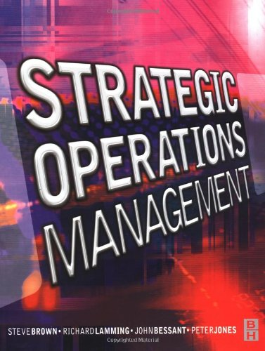9780750642576: Strategic Operations Management