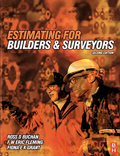 9780750642712: Estimating for Builders and Surveyors