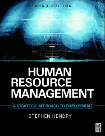 9780750642798: Human Resource Management: A Strategic Approach to Employment (Contemporary Business)