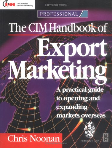 9780750643467: CIM Handbook of Export Marketing (Chartered Institute of Marketing (Paperback))