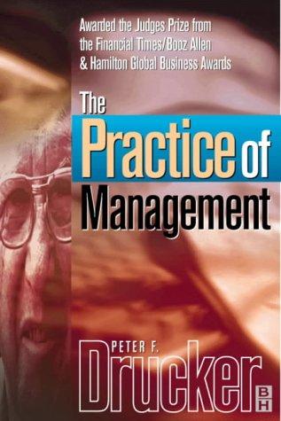9780750643931: Practice of Management (Drucker series)