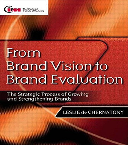 9780750646147: From Brand Vision to Brand Evaluation