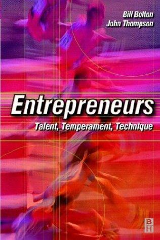 9780750646239: Entrepreneurs