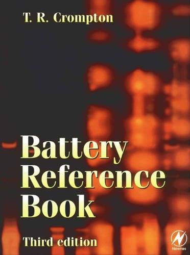 9780750646253: Battery Reference Book, Third Edition