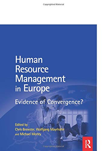 9780750647175: HRM in Europe: Evidence of Convergence?