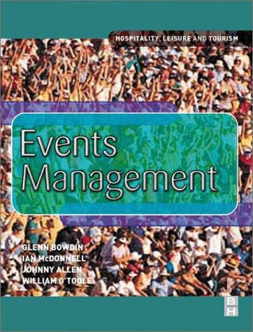 9780750647960: EVENTS MANAGEMENT (HOSPITALITY LEISURE & TOURISM)