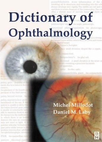 9780750647977: Dictionary of Ophthalmology, 1e