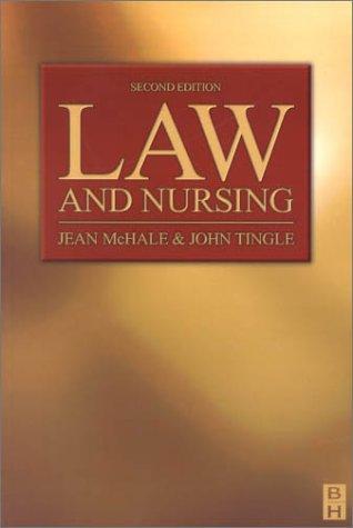 Law and Nursing: Mchale Professor Llb