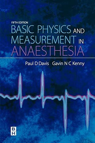 9780750648288: Basic Physics & Measurement in Anaesthesia, 5e