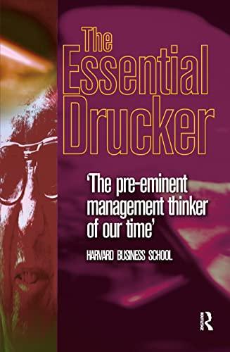 9780750650182: The Essential Drucker