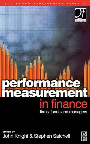 9780750650267: Performance Measurement in Finance (Quantitative Finance)