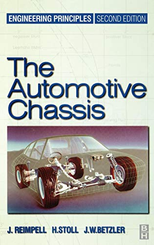 9780750650540: Automotive Chassis: Engineering Principles
