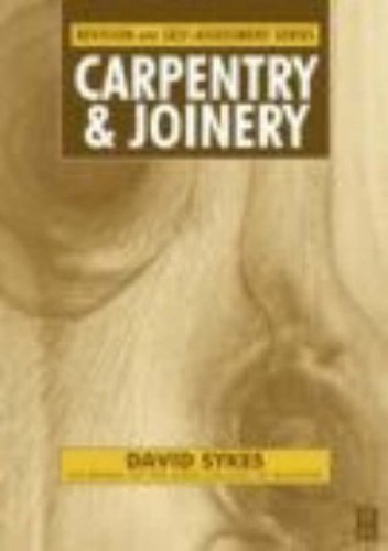 9780750651172: Carpentry and Joinery: Work Activities