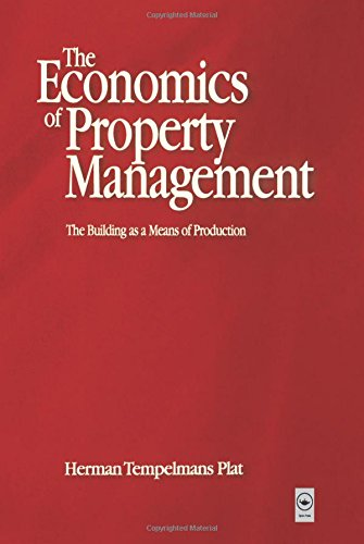 9780750651233: Economics of Property Management: The Building as a Means of Production