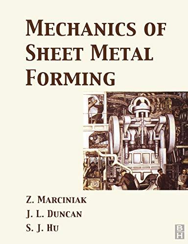9780750653008: Mechanics of Sheet Metal Forming