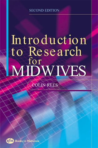 9780750653510: An Introduction to Research for Midwives