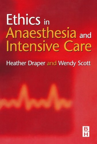 9780750653534: Ethics in Anaesthesia and Intensive Care