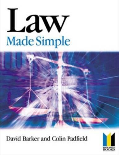 9780750654050: Law Made Simple, Eleventh Edition (Made Simple Series)