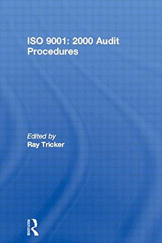 9780750654364: ISO 9001: 2000 Audit Procedures (Computer Weekly Professional)