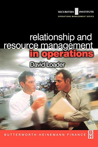 9780750654883: Relationship and Resource Management in Operations