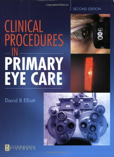 9780750655279: Clinical Procedures in Primary Eye Care, 2e