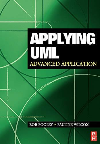 9780750656832: Applying UML: Advanced Applications
