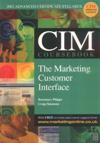 9780750657044: CIM Coursebook 02/03 Marketing Customer Interface